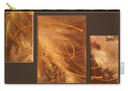 Wings Of Gold Brown Bckgrnd Carry-all Pouch