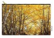 Golden Autumn Light Carry-all Pouch