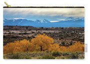 Golden Cottonwoods Carry-all Pouch