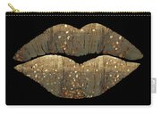 Golden Dreams Fantasy Lips Fashion Art Carry-all Pouch