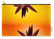 Golden Duo Water Lilies Carry-all Pouch