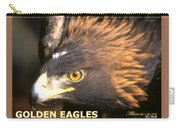 Golden Eagles Mascot 10 Carry-all Pouch