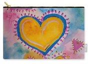 Golden Heart Carry-all Pouch