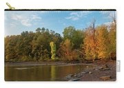 Golden Hour At Esopus Meadows II Carry-all Pouch