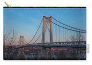 Golden Hour At Mid-hudson Bridge Carry-all Pouch