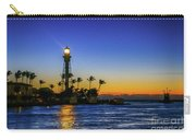 Golden Lighthouse Reflection Carry-all Pouch by Tom Claud