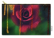 Golden Moments Of A Garden Rose Carry-all Pouch