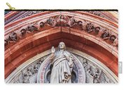 Gothic Relief Sculpture On Church Carry-all Pouch by Ariadna De Raadt