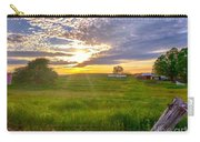 Gouveia Vineyard At Sunset  Carry-all Pouch