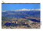 Granada, The Alhambra And Sierra Nevada From The Air Carry-all Pouch