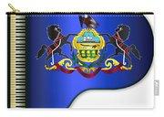 Grand Pennsylvania Flag Carry-all Pouch