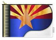 Grand Piano Arizona Flag Carry-all Pouch