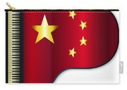 Grand Piano Chinese Flag Carry-all Pouch