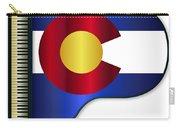 Grand Piano Colorado Flag Carry-all Pouch