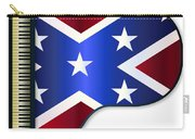 Grand Piano Confederate Flag Carry-all Pouch