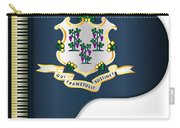 Grand Piano Connnecticut Flag Carry-all Pouch