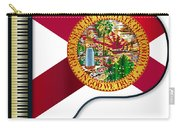 Grand Piano Florida Flag Carry-all Pouch