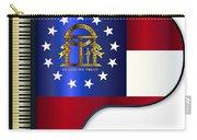 Grand Piano Georgia Flag Carry-all Pouch