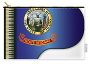 Grand Piano Idaho Flag Carry-all Pouch