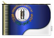 Grand Piano Kentucky Flag Carry-all Pouch