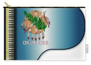 Grand Piano Oklahoma Flag Carry-all Pouch