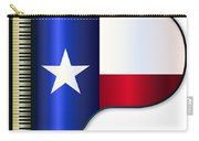 Grand Piano Texas Flag Carry-all Pouch
