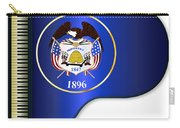 Grand Piano Utah Flag Carry-all Pouch
