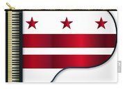 Grand Piano Washington Dc Flag Carry-all Pouch