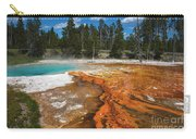 Grand Prismatic Spring Carry-all Pouch by Mae Wertz