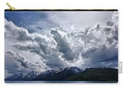 Grand Teton Mountains And Clouds Carry-all Pouch