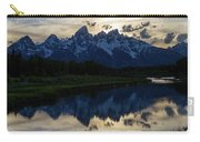 Grand Teton Sunset Carry-all Pouch by Michael Chatt