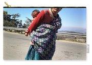 Grandchild And Grandmother Shimla Himachal Pradesh Carry-all Pouch