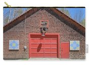 Grantham Barn With Quilt Squares Carry-all Pouch