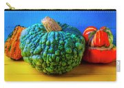 Graphic Autumn Pumpkins And Gourds Carry-all Pouch