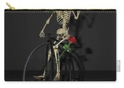 Grateful Penny Farthing Skeleton Carry-all Pouch