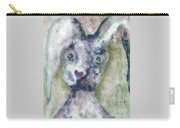 Gray Bunny Love Carry-all Pouch