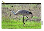 Grazing Sand Hill Crane Carry-all Pouch