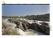Great Falls On The Potomac Panorama  Carry-all Pouch