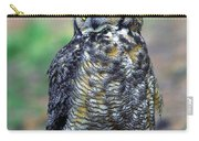 Great Horned Owl B. Virginianus Carry-all Pouch