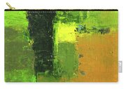 Green Envy Abstract Painting Carry-all Pouch