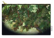 Green Grapes On The Vine 16 Carry-all Pouch