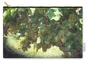 Green Grapes On The Vine 17 Carry-all Pouch
