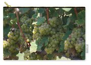 Green Grapes On The Vine 18 Carry-all Pouch