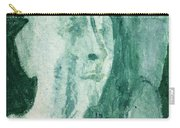 Green Portrait Carry-all Pouch