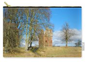 Greenknowe Tower In Late Winter Sun Scottish Borders Carry-all Pouch