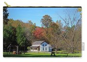 Gregg Cable House In Cades Cove Historic Area Of The Smoky Mountains Carry-all Pouch