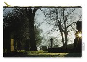Greyfriars Churchyard In Winters Sun Carry-all Pouch