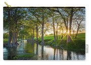 Guadalupe River Sunset Carry-all Pouch