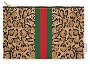 Gucci Leopard Print-1 Carry-all Pouch
