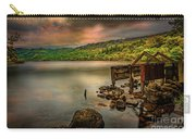 Gwynant Lake Old Boat House Carry-all Pouch